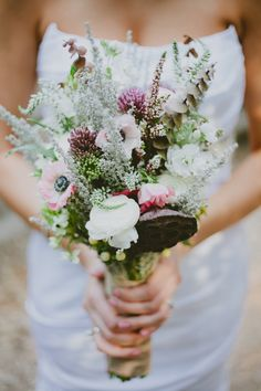 An Intimate & Rustic Wedding at Oak Canyon Nature Center | Fab You Bliss
