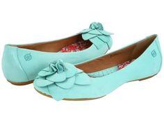 BORN Precious Ballet Flats Turquoise NEW NIB 7.5 or 9.5