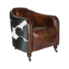 The Rustler Lounge Chair makes no excuses for the décor preference of whoever is fortunate enough to take it home. You're a rancher at heart, and proud of it. We love the rustic and vintage look of wea...  Find the Rustler Lounge Chair, as seen in the Wild, Stylish & Free Collection at http://dotandbo.com/collections/wild-stylish-and-free?utm_source=pinterest&utm_medium=organic&db_sku=111206