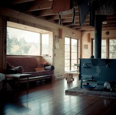 Cabin in the Cowichan Valley of Vancouver Island, British Columbia.