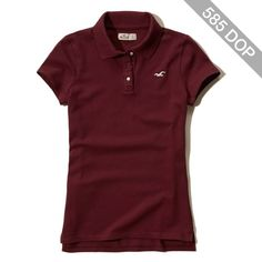 Hollister Iconic Slim Stretch Polo