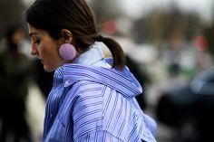 Maxibrincos, tendência inverno 2017, semana de moda de paris, paris fashion week, Irina Linovich, street style, Le 21ème