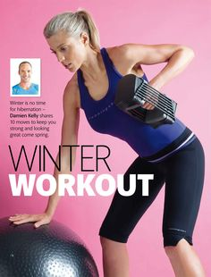 Winter Workout: 10 moves to keep you strong and looking great come spring #fitforholidays