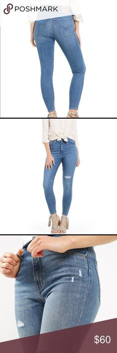 e550eac8d354 Levis Mile High Super Skinny Jeans sz 14 - 32 x 30 Brand new pair of