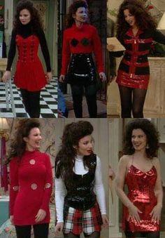 Tomboy Fashion, Fashion 101, Fashion History, 90s Fashion, Fashion Dresses, Vintage Fashion, Fran Fine Outfits, Nanny Outfit, Trendy Jeans