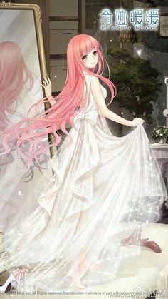 images for anime art Kawaii Anime Girl, Art Kawaii, Anime Girl Pink, Anime Girl Cute, Beautiful Anime Girl, I Love Anime, Manga Girl, Anime Art Girl, Anime Girls