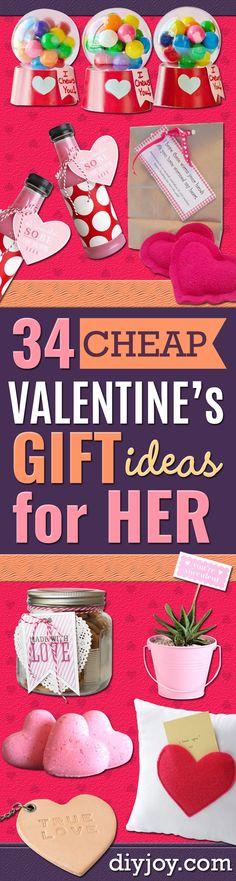 35 Cheap Valentine\'s Gift Ideas for Him | Gift, Valentine crafts ...