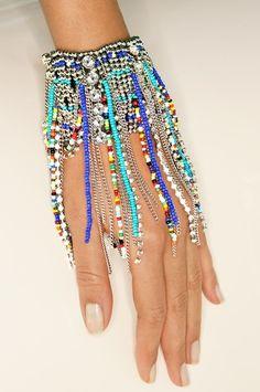 Beaded fringe bracelet #bostonproper