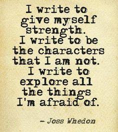 Joss rocks! Life, Inspiration, Crossword Puzzles, Joss Whedon, Writing Quotes, Book, Josswhedon, Writers, Crossword - Inspirational Quotes