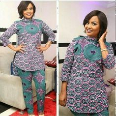 The best collection of 2018 most stylish ankara designs you've been looking for. We have them complete stylish ankara designs 2018 here Latest African Fashion Dresses, African Dresses For Women, African Attire, African Women, African Inspired Fashion, African Print Fashion, Africa Fashion, African Prints, Men's Fashion