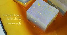 Goldschläger cinnamon jello shots recipe—perfect for an Oscar party