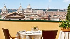 Let's have some lunch in Hotel Eden, Rome   Il Giardino Restaurant