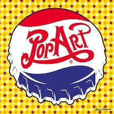 Pop Art Bottle Cap by Gary Grayson Pop Art Lips, Modern Pop Art, Fine Arts Degree, Bachelor Of Fine Arts, Design Movements, Blue Bonnets, Art Challenge, Bottle Art, Antique Books
