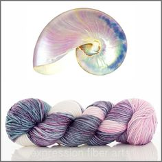 $30 - Expression Fiber Arts Yarn - PEARL NAUTILUS SUPERWASH MERINO SILK PEARLESCENT WORSTED (http://www.expressionfiberarts.com/products/pearl-nautilus-superwash-merino-silk-pearlescent-worsted.html)