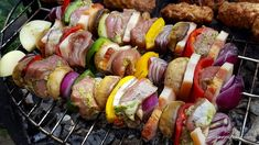 Pasta, Kebabs, Pork Recipes, Carne, Barbecue, Sausage, Bacon, Food And Drink, Ethnic Recipes