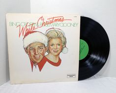 Bing Crosby & Rosemary Clooney White Christmas 1978 Vinyl Record vintage LP Holiday