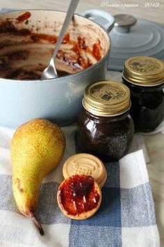 pensieri e pasticci: Confettura pere e cioccolato