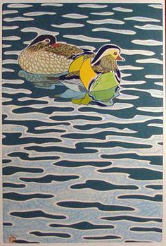 Mandarins, Shiro Kasamatsu  (1898-1991)