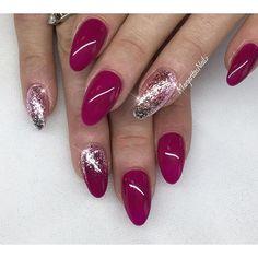 Grape drop, lollipop & silver leaf✨✨ @vetro_usa ✨#gelnails #naturalnails #nails #nailart #MargaritasNailz #nailcandy #nailstagram #fashionnails #nailpromagazine #vetro #nailfashion #nailstagram #allprettynails #nailsofinstagram