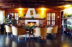 Lobby do Hotel Rosa dos Ventos