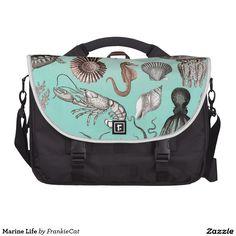 Marine Life Commuter Bag