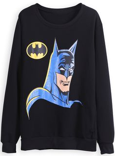 Batman sweatshirt!