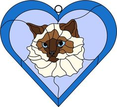 Free Mosaic Patterns, Cat Quilt Patterns, Stained Glass Patterns Free, Stained Glass Quilt, Stained Glass Projects, Sun Coloring Pages, Cat Crafts, Glass Animals, Stuffed Animal Patterns