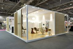 Exhibition stand design Salon International