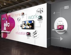 Exhibition - product display, demo, connectivity