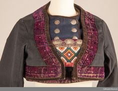 Folk Costume, Costumes, Antique Clothing, Traditional Dresses, Norway, Museum, Denim, Sweaters, Cotton