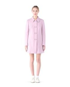Are you looking for REDValentino Women Cotton Wool Coat? Discover all the details at the official store and shop online: fast delivery and secure payments.