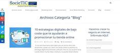 Blog Societic Business Online; Diseño Web, Social Media Marketing, Posicionamiento.