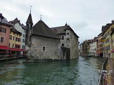 Palacio de la Isla de Annecy, Francia