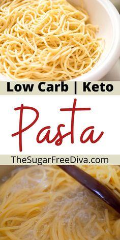Coconut Flour Pasta Recipe, Keto Pasta Dough Recipe, Healthy Butter Chicken Recipe, Low Carb Keto, Low Carb Recipes, Healthy Recipes, Keto Flour, Low Carb Noodles, Pasta Substitute