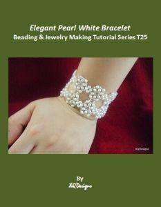 Elegant White Pearl Bracelet