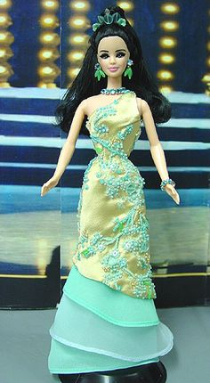 pageant doll, fashion doll, ๑ Miss Cook Island 2003/2004