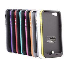 Case para Iphone 5 5s com Power Bank 2000 mAh