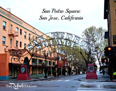 San Pedro square in downtown San Jose California.  #Travel #Califorina #WestCoast