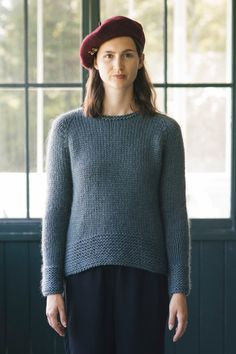weekend knitting pattern collection - Quince and Co