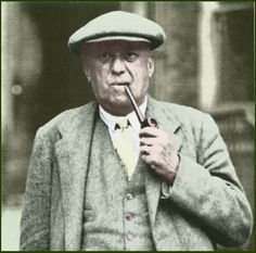 aleister crowley paintings | In A Flatcap In 1934 - Esoteric And Occult Aleister Crowley Wallpaper ...