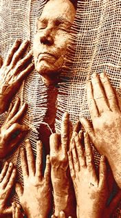 """Pueblo Goddess: . Each of us is holding a thread, a lineage, that goes back in time and extends far into the future, a weave we participate in with our thoughts, our dreams, and the manifest creative work of our hands. So perhaps the only real question is an ethical question, as well as a creative one. """" What are we weaving?"""" Competition, or cooperation? Estrangement, or """"a Webbed Vision""""? Despair, or """"a path of beauty""""?"""
