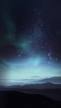 phone wallpaper sky in my De - phonewallpaper Night Sky Wallpaper, Dark Wallpaper, Galaxy Wallpaper, Nature Wallpaper, Nebula Wallpaper, Night Sky Stars, Night Skies, Sky At Night, Aesthetic Iphone Wallpaper