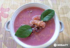 Fahéjas szilvakrémleves Cantaloupe, Fruit, Soups, Food, Meal, The Fruit, Eten, Soup, Meals