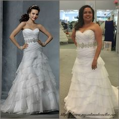 Real Women/Real Brides Alfred Angelo Dress 2314
