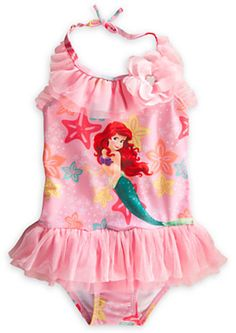 Disney Ariel Deluxe Swimsuit for Girls on shopstyle.com