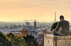 Parc de Belleville (France). 'Climb to the top of the hill in this little-known Belleville park to savour some of the best views of Paris.' http://www.lonelyplanet.com/france/paris/sights/park/parc-de-belleville
