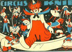 Circus collection: Cirque Knie 1940