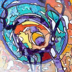 Actief De kleurrijke mandala (magische cirkel), op mijn manier van meditatief schilderen. Een doekje vanuit de ziel. Een lichtpuntje om te geven, als oppepper, krachtgever, of als teken van vriendschap. Ellen Berens