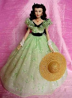 Franklin Mint's BBQ Scarlett Doll 17""
