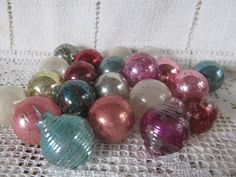 Vintage 1940's Lot Of 21 Small Ornaments 2 by AuntSuesVintage, $24.99